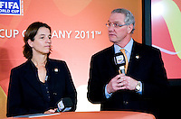 Dan Flynn, Tatjana Haenni. A Welcome USA reception for the FIFA Women's World Cup 2011 was held at the German ambassador's residence in Washington, DC.
