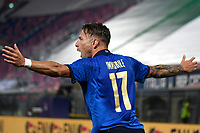 Ciro Immobile of Italy celebrates after scoring a goal <br /> Uefa European friendly football match between Italy and Czech Republic at stadio Renato Dall'Ara in Bologna (Italy), June, 4th, 2021. Photo Image Sport / Insidefoto