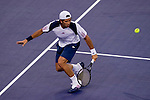 SHANGHAI, CHINA - OCTOBER 11:  Fernando Verdasco of Spain returns a ball to Thiemo de Bakker of The Netherlands during day one of the 2010 Shanghai Rolex Masters at the Shanghai Qi Zhong Tennis Center on October 11, 2010 in Shanghai, China.  (Photo by Victor Fraile/The Power of Sport Images) *** Local Caption *** Fernando Verdasco
