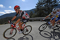 14th March 2020, Paris to Nice cycling tour, final day, stage 7;   DE GENDT Thomas (BEL) of LOTTO SOUDAL during stage 7 of the 78th edition of the Paris - Nice cycling race, a stage of 166,5km with start in Nice and finish in Valdeblore La Colmiane on March 14, 2020 in Valdeblore La Colmiane, France