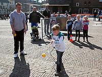 2-4-09, Alkmaar, Opening REAAL straattennis,