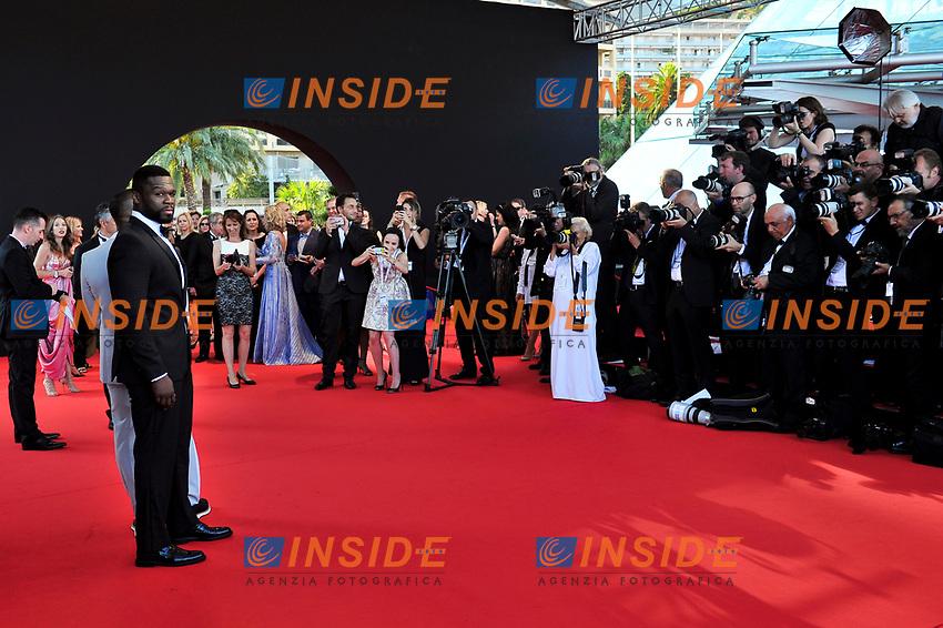 Curtis Jackson 50 Cent Monaco - 20/06/2017<br /> 57 festival TV Monte Carlo <br /> Foto Norbert Scanella / Panoramic / Insidefoto