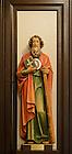Feb. 22, 2012; Statue of St. Jude in Siegfried Chapel..Photo by Matt Cashore/University of Notre Dame