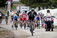 Max Kanter (DEU/DSM) up the final part of the Monte Zoncolan <br /> <br /> 104th Giro d'Italia 2021 (2.UWT)<br /> Stage 14 from Cittadella›Monte Zoncolan (205km)<br /> <br /> ©kramon