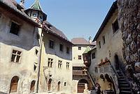 - principality of Liechtenstein,  inside courtyard of Prince's castle....- Principato del  Liechtenstein, cortile interno del castello del Principe