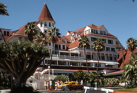Coronado: Hotel Del Coronado. James, Merritt & Watson Reid, Architects. Late Victorian. NRHP in 1971. Photo '78.