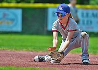 1 June 2013: The Burlington American Expos in Little League action against the Burlington American Athletics at Calahan Park in Burlington, Vermont. Mandatory Credit: Ed Wolfstein Photo