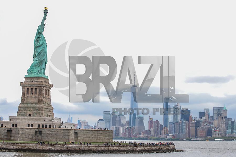 Nova York (EUA), 14/05/2019 - Turismo / Eua / Estatua da Liberdade - Vista da Estatua da Liberdade em Nova York nos Estados Unidos nesta terça-feira, 14. (Foto: Vanessa Carvalho/Brazil Photo Press)