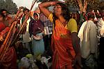 A woman performs black magic on the bank of river Gandak during Sonepur fair. Bihar, India, Arindam Mukherjee.