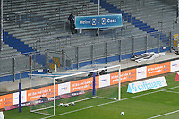 Anzeigetafel in der Baustelle des Stadion am Böllenfalltor<br /> <br /> - 08.11.2020: Fussball 2. Bundesliga, Saison 20/21, Spieltag 7, SV Darmstadt 98 - SC Paderborn 07, emonline, emspor, <br /> <br /> Foto: Marc Schueler/Sportpics.de<br /> Nur für journalistische Zwecke. Only for editorial use. (DFL/DFB REGULATIONS PROHIBIT ANY USE OF PHOTOGRAPHS as IMAGE SEQUENCES and/or QUASI-VIDEO)