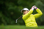 Li Jiayun of China tees off during Round 1 of the World Ladies Championship 2016 on 10 March 2016 at Mission Hills Olazabal Golf Course in Dongguan, China. Photo by Victor Fraile / Power Sport Images
