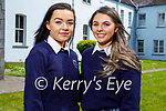 Students graduating from Presentation Secondary School Castleisland on Monday. L to r: Katie O'Connor and Caoimhe Horgan.