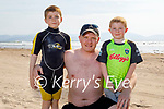 Enjoying the afternoon in Inch beach on Saturday, l to r: Noah, Martin and Oisin Flynn.
