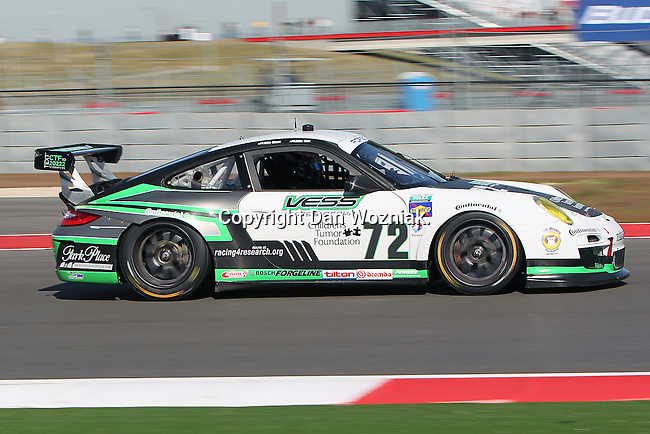 Mike Skeen (72), Driver of Park Place Motorsports Porsche GT3 in action during the Grand-Am of the Americas practice and qualifying sessions at the Circuit of the Americas race track in Austin,Texas...