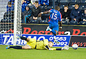 CALEY'S GREGORY TADE SCORES INVERNESS' FOURTH GOAL.