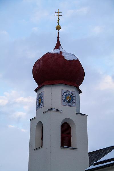 Church in St Anton, Austria, Europe 2014,