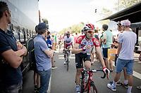 Maxime Monfort (BEL/Lotto-Soudal) at the finish in Saint-Étienne<br /> <br /> Stage 8: Mâcon to Saint-Étienne(200km)<br /> 106th Tour de France 2019 (2.UWT)<br /> <br /> ©kramon