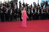 Caroline Ducey .Cannes 24/5/2013 .Festival del Cinema di Cannes .Foto Panoramic / Insidefoto .ITALY ONLY