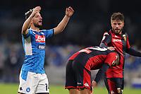 Dries Mertens of Napoli dejection<br /> Napoli 09-11-2019 Stadio San Paolo <br /> Football Serie A 2019/2020 <br /> SSC Napoli - Genoa CFC<br /> Photo Cesare Purini / Insidefoto