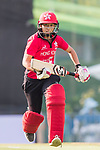 Kary Chan of Hong Kong Women's team runs between the wickets during Day 2 of Hong Kong Cricket World Sixes 2017 match between Hong Kong Women's Team vs The Dragons Team at Kowloon Cricket Club on 29 October 2017, in Hong Kong, China. Photo by Vivek Prakash / Power Sport Images