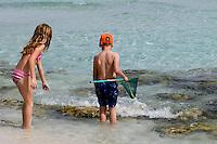Zypern (Süd), Nissi Bay bei Agia Napa, am Strand