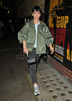 """Lily Allen at the """"2:22 - A Ghost Story"""" theatre evening performance departures, Noel Coward Theatre, St Martin's Lane, on Thursday 09th September 2021 in London, England, UK. <br /> CAP/CAN<br /> ©CAN/Capital Pictures"""