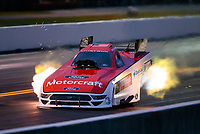 Sep 13, 2019; Mohnton, PA, USA; NHRA funny car driver Bob Tasca III during the Reading Nationals at Maple Grove Raceway. Mandatory Credit: Mark J. Rebilas-USA TODAY Sports