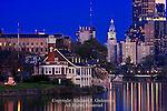 Schuylkill River and the Philadelphia Skyline, Pennsylvania