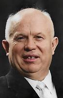 Nikita Khrushchev (1894-1971), Russian premier, c1960s