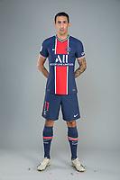 14th October 2020, Paris, France; Official League 1 player portrait for Paris Saint Germain;  DI MARIA Angel