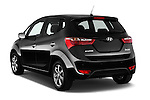 Car pictures of rear three quarter view of 2016 Hyundai ix20 Joy 5 Door Mini MPV Angular Rear