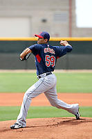 Carlos Carrasco, Cleveland Indians 2010 minor league spring training..Photo by:  Bill Mitchell/Four Seam Images.