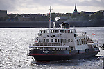 The Royal Iris Mersey Ferry in operation on the River Mersey Liverpool