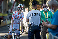 Benoit Cosnefroy (FRA/AG2R-La Mondiale)<br /> <br /> Stage 14 from Clermont-Ferrand to Lyon (194km)<br /> <br /> 107th Tour de France 2020 (2.UWT)<br /> (the 'postponed edition' held in september)<br /> <br /> ©kramon
