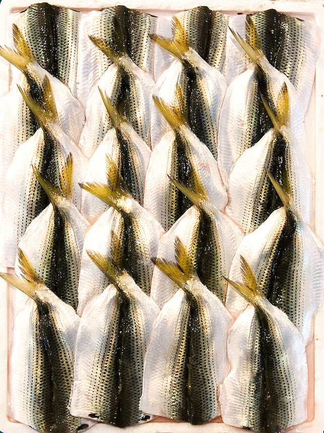 fish prepared for sale