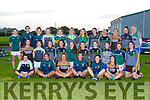 The 2020 Kerry Ladies squad who returned to training in Spa Gaa club on Friday