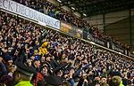 03.03.2020 Hibs v Hearts: Hearts fans celebrate