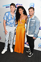 Roman Kemp, Vick Hope and Sonny Jay<br /> poses on the media line before performing at the Summertime Ball 2019 at Wembley Arena, London<br /> <br /> ©Ash Knotek  D3506  08/06/2019