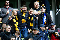 Photo: Richard Lane/Richard Lane Photography. Leinster Rugby v Wasps.  European Rugby Champions Cup Quarter Final. 01/04/2017. Wasps supporters.