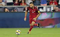 Orlando, FL - Friday Oct. 06, 2017: Clint Dempsey during a 2018 FIFA World Cup Qualifier between the men's national teams of the United States (USA) and Panama (PAN) at Orlando City Stadium.