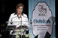 Me Marie-Laure Leclerc<br />  au Gala Phenicia de la Chambre de Commerce LGBT du Québec, tenu au Parquet de la Caisse de Depots et Placements du Quebec, jeudi, 26 mai 2016.<br /> <br /> <br /> PHOTO : Pierre Roussel -  Agence Quebec Presse