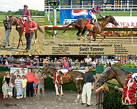 Swift Temper winning The Delaware Handicap (Gr.2) at Delaware Park on 7/19/09<br /> to compare other versions of this race search Swift Temper, winphoto
