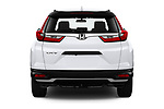 Straight rear view of 2020 Honda CR-V LX 5 Door SUV Rear View  stock images