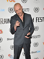 """Sean Cronin attends the """"My Hero"""" Raindance Film Festival UK film premiere, Vue Piccadilly cinema, Lower Regent Street, London, England, UK, on Friday 25 September 2015. <br /> CAP/CAN<br /> ©Can Nguyen/Capital Pictures"""