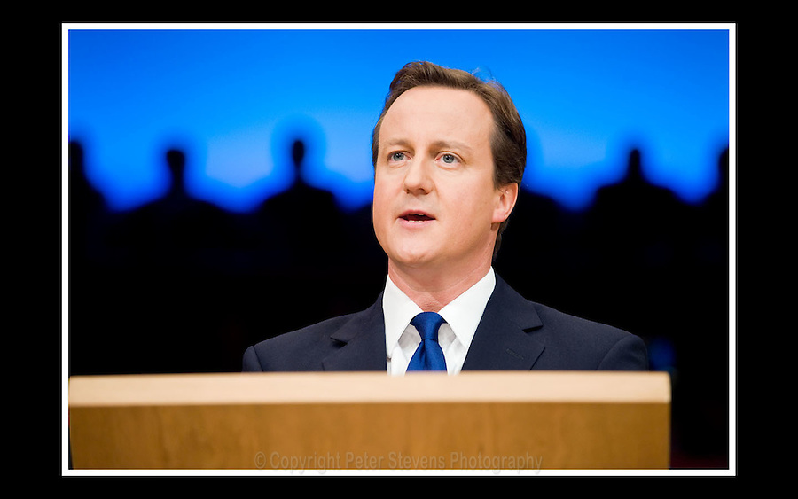 David Cameron MP - Conservative Party Conference -  Birmingham International Convention Centre - 1st October 2008