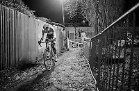 Mathieu Van der Poel (NED/Beobank-Corendon) leading in the alley<br /> <br /> Elite Men's race<br /> Superprestige Diegem 2016