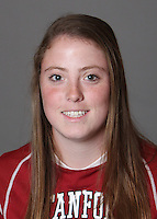 STANFORD, CA - OCTOBER 29:  Annie Read of the Stanford Cardinal women's lacrosse team poses for a headshot on October 29, 2009 in Stanford, California.