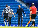 Rangers v St Mirren:  Steven Gerrard at full time