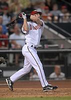 Jun 20, 2007; Phoenix, AZ, USA; Arizona Diamondbacks shortstop (6) Stephen Drew against the Tampa Bay Devil Rays at Chase Field. Mandatory Credit: Mark J. Rebilas