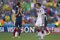 Mats Hummels of Germany celebrates at the end of the game